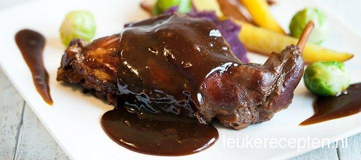 Konijn op Limburgse wijze - Leuke recepten