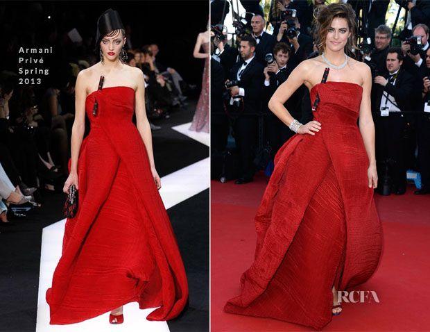 Allison Williams In Armani Privé -  Blood Ties Cannes Film Festival Premiere