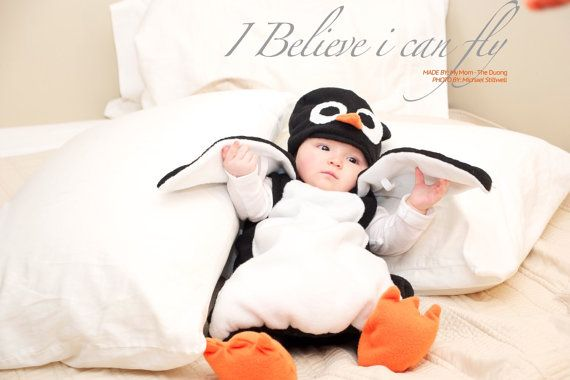Baby Penguin Costume Penguin Costume Kid's Costume by SoldbyThe