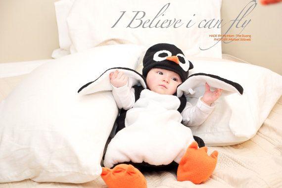 Costume de bébé pingouin - Halloween Costume - Costume d