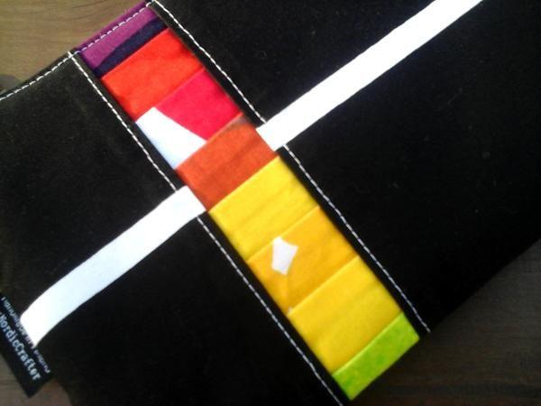 Zipper pouch from Marimekko fabric
