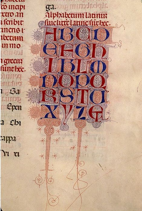 Alphabet Filigrané Filigrees