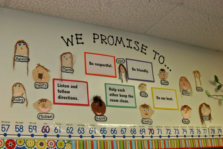 """Classroom Expectations: Our Class Promise  From the blog """"Tinkering with Teaching"""""""
