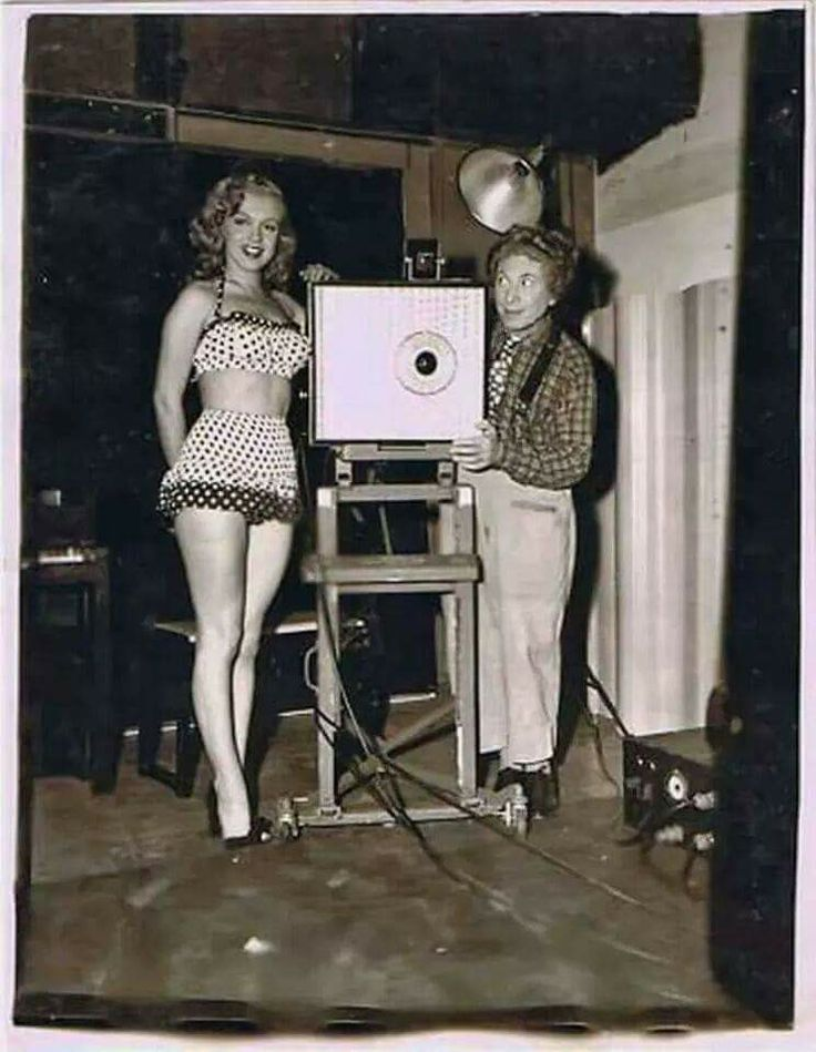 Marilyn and Harpo