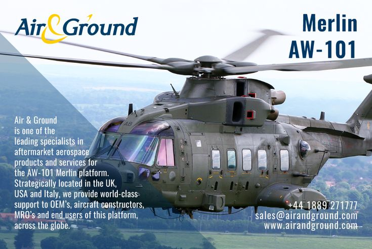 As supply, repair and distribution specialists for the AW-101. You can always rely on Air & Ground to #keepyourfleetintheair.