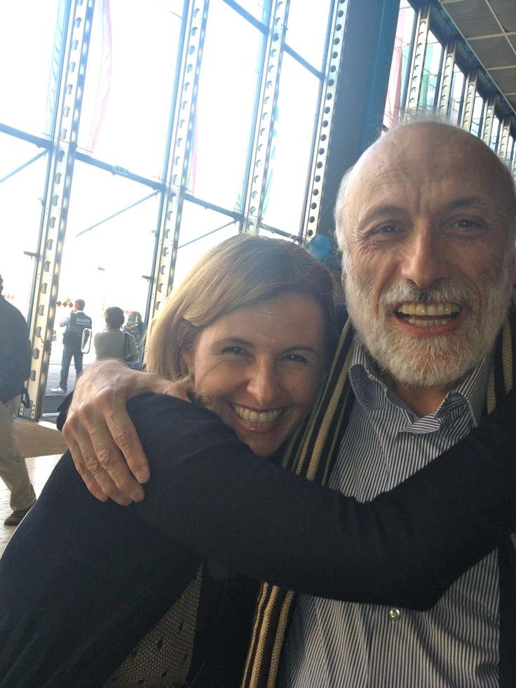 Con Carlo Petrini  -   Salone del gusto 2012