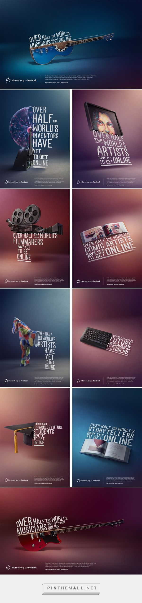 Internet.org by Facebook on Behance - created via https://pinthemall.net