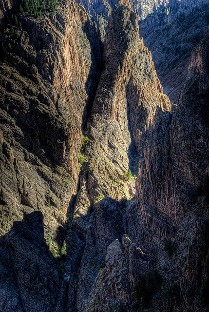 Black Canyon of the Gunnison National Park, Colorado; photo by Wayne Boland