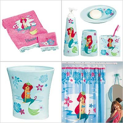 High Quality Disney Ariel Bathroom Set | Then Thereu0027s An Ariel Bath Accessories Set..  Again,