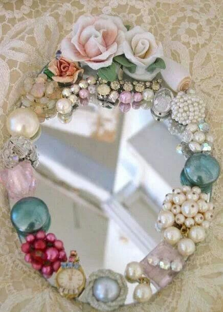 Well-known 667 best JEWELED FRAMES DIY images on Pinterest | Picture frames  XX53