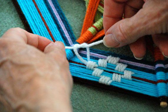 How-Tuesday: Weaving a Complex Ojo de Dios   The Etsy Blog