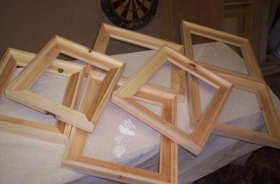 Homemade Wood Picture Frame Plans Woodworking Projects