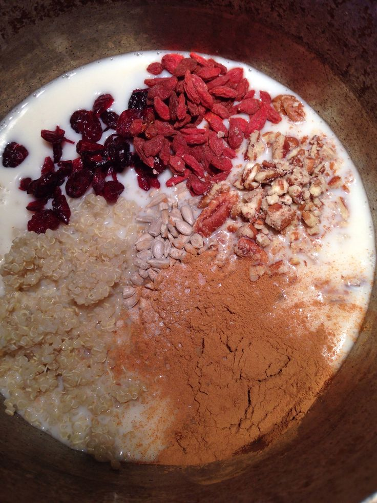 Leftover Quinoa Porridge - Breakfast | Amanda Greenthumb - Certified Health Coach
