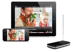 Watch Live TV On Your Phone!    Humax has released the Tivizen digital TV receiver, which turns your smartphone or tablet into a TV.  The Tivizen DVB-T Wi-Fi receiver transmits Freeview TV directly to your portable device, allowing you to watch your favourite programmes on the go. Follow the link below..
