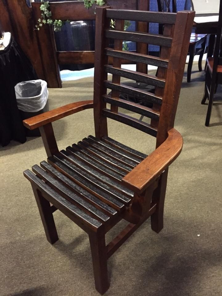 We Spotted This Gorgeous Chair In Ohio While Looking For The Best In  American Made Furniture To Bring Back With Us To Gallery Furniture!