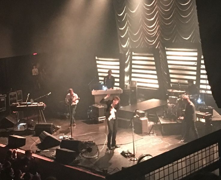 Spoon at Stage AE in Pittsburgh