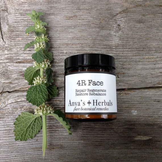 Anti-Aging Organic Face Cream: Herbal Restorative Moisturizer for 4R's, Organic Anti Aging Moisture, Botanical, True Beauty Therapy