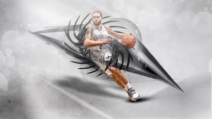 New wallpaper of Deron Williams, download full size at - http://www.basketwallpapers.com/USA/Deron-Williams/ :)