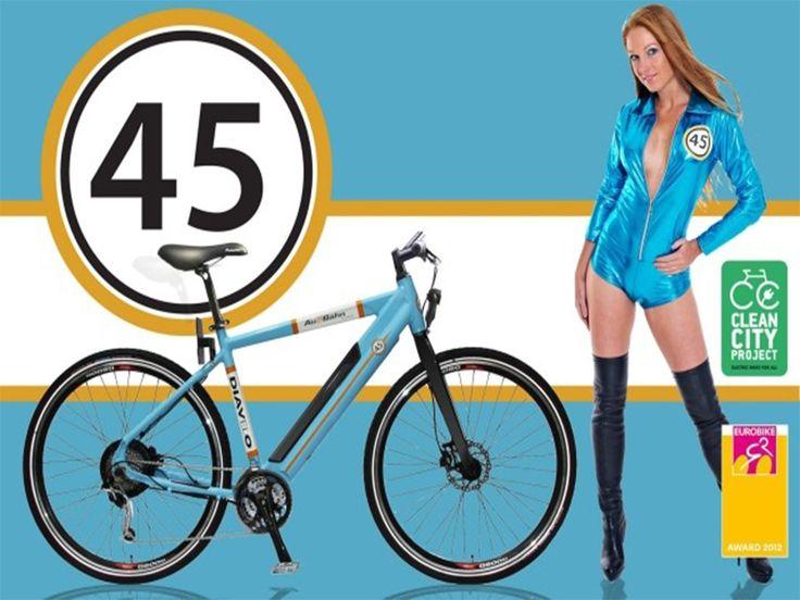 Ηλεκτρικά Ποδήλατα : DIAVELO 45 AU2BAHN