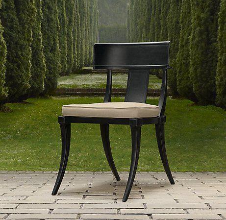 Cadeira klismos - Egito