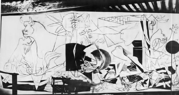 Guernica - Picasso - Fase 2