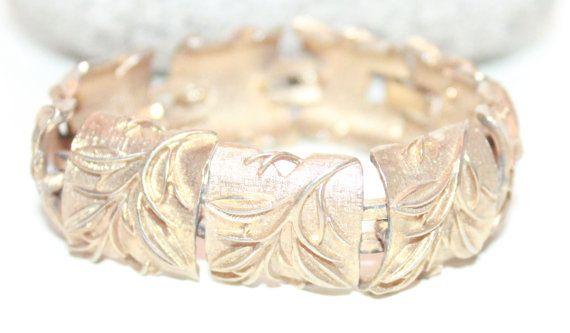 Sarah Coventry Bracelet, Panel Bracelet, Gold Bracelet, Tennis Bracelet on Etsy, $13.60 CAD