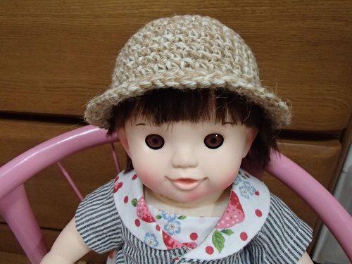 ぽぽちゃん用ニット帽の作り方