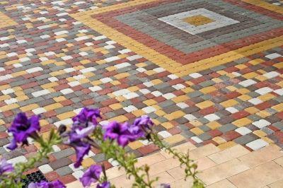 Тротуарная плитка Старый город, укладка тротуарной плитки Старый город