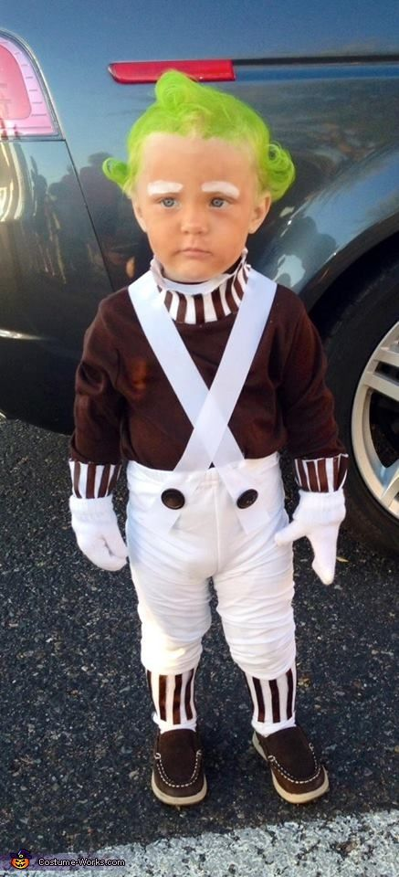 Oompa Loompa - Halloween Costume Contest via @costume_works