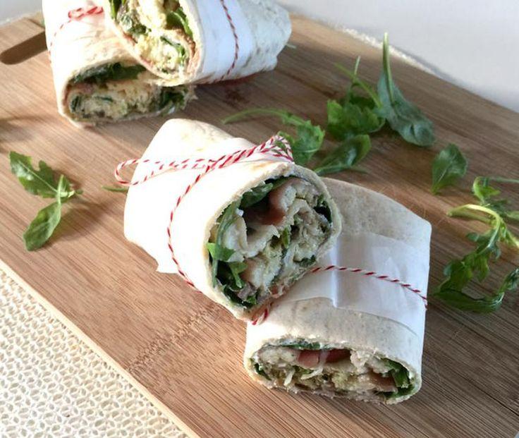 Foto: Italiaanse Lunch Wraps met Mozzarella, Prosciutto & Rucola. Geplaatst door EefKooktZo op Welke.nl
