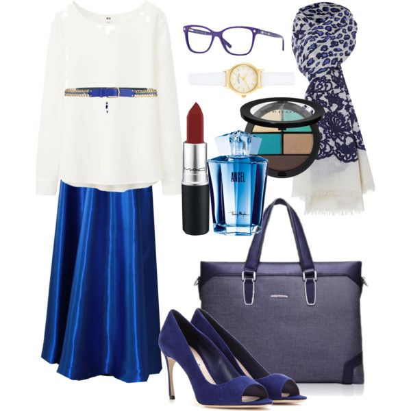 A fashion look from December 2014 featuring Uniqlo blouses, Miu Miu pumps and Kate Spade watches. Browse and shop related looks.