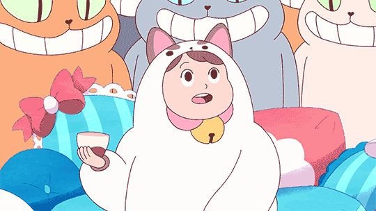 This is me …. everyday. » Watch Bee and Puppycat Here «