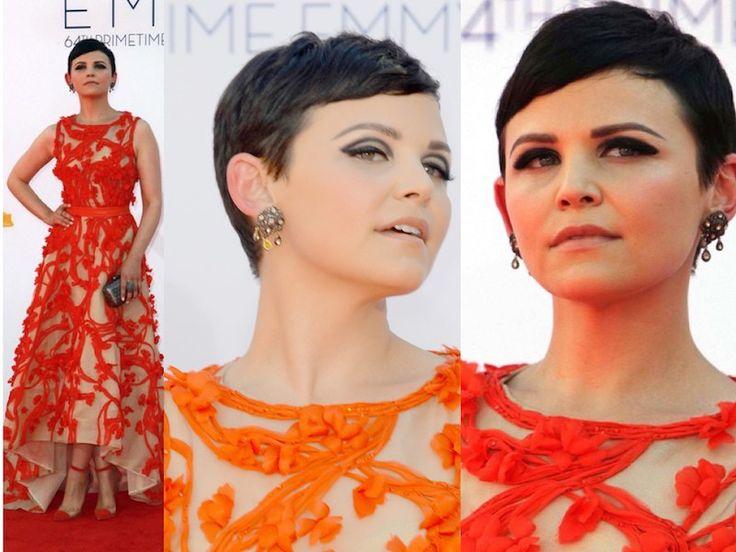 ClioMakeUp-trucco-vestito-abito-arancione-arancio-aranciato-abbinare-ombretto-rossetto-ginnifer-goodwin