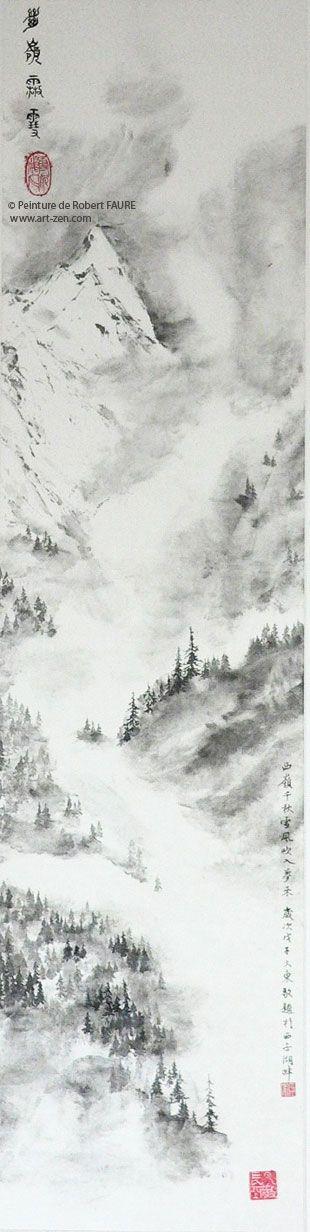 3- Approche des paysages par Robert FAURE Jeu de brume dans les hautes vallées