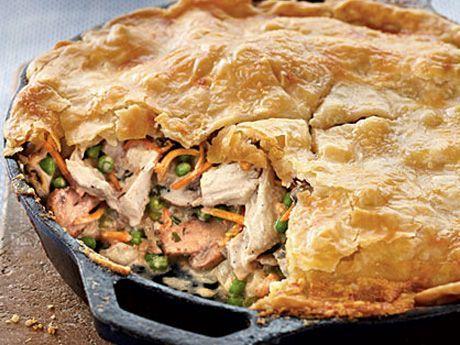 cast iron recipe images | The Ultimate Cast Iron Chicken Pot Pie Recipe | Black Skillet