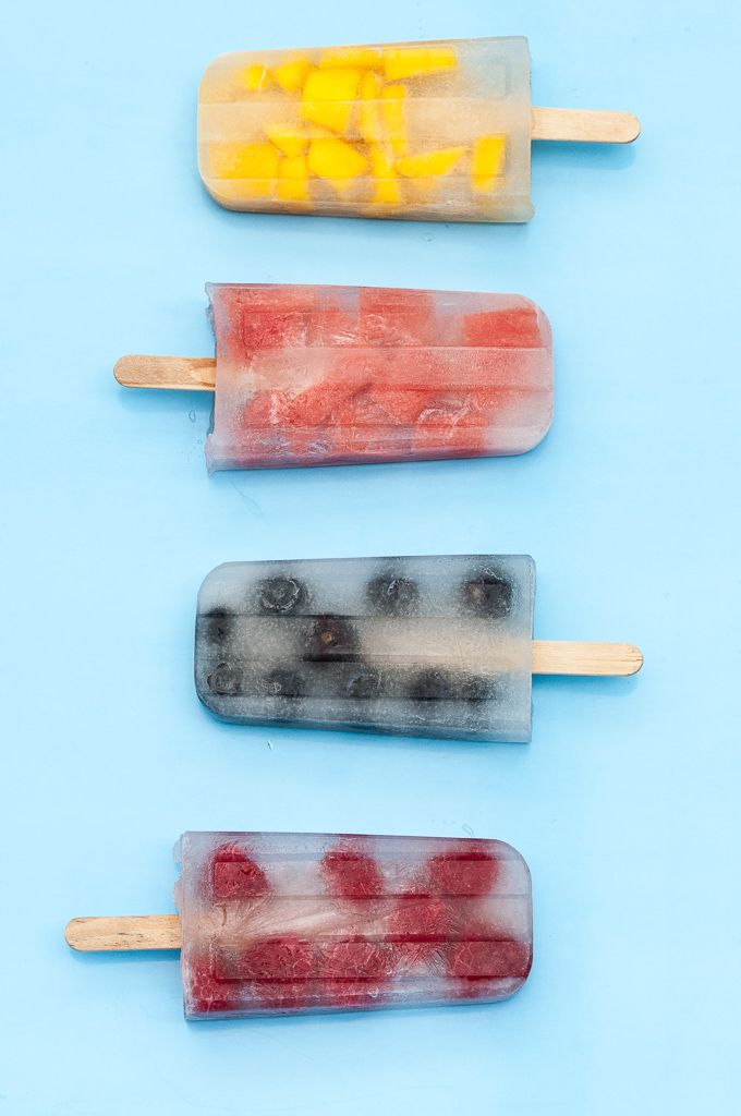 Coconut Water Popsicles are what you will be craving for all summer long! This Coconut Water Popsicle recipe is low-cal, beyond easy to make and healthy!
