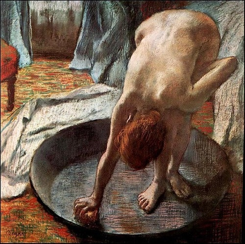 Degas The Tub, 1885-86 c.