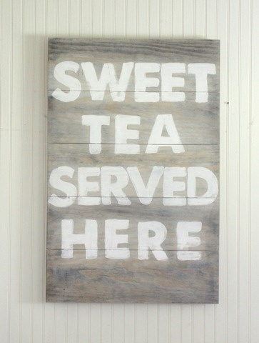 Sweet tea.Kitchens, Sweettea, Decor Crafts, Teas Servings, Crafts Ideas, Sweets Teas, Painting Artworks, Cottages Decor, Painting Signs