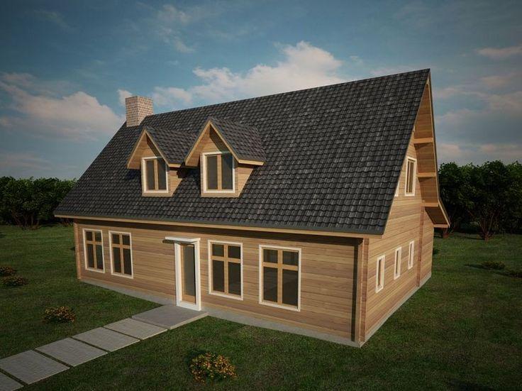 Houtskeletbouw Woning Horezu | Houten huis bouwen