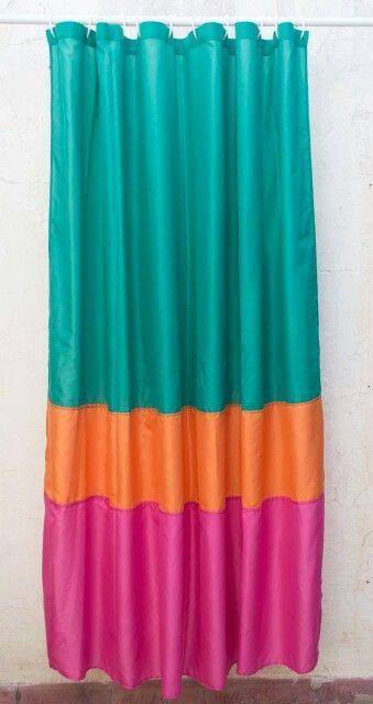 Amor por los colores! Cortina de baño combinada  Shower curtain