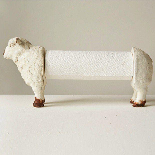 Sheep Paper Towel Holder