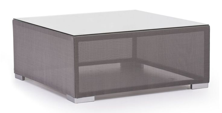 Zuo Modern Clear Water Bay Coffee Table Clear Outdoor Water Bay Coffee Table Gray Furniture Outdoor Furniture Outdoor Coffee Tables