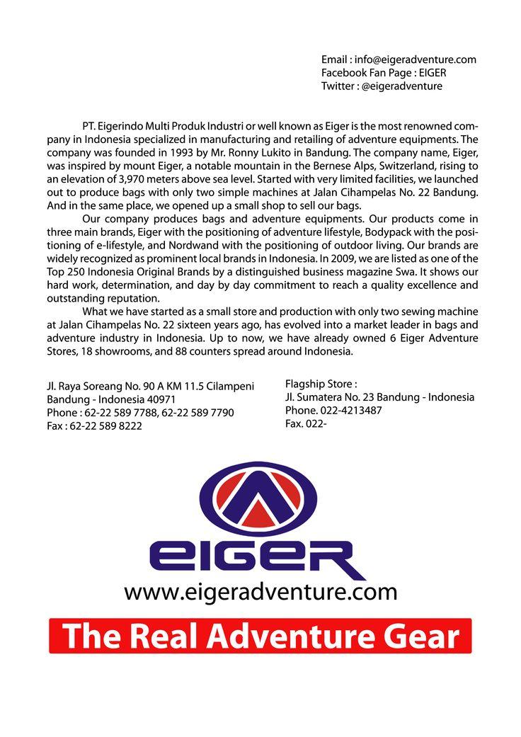 History Eiger