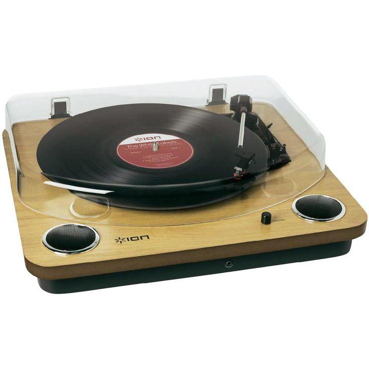 USB-Plattenspieler ION Audio Max LP Riemenantrieb Holz
