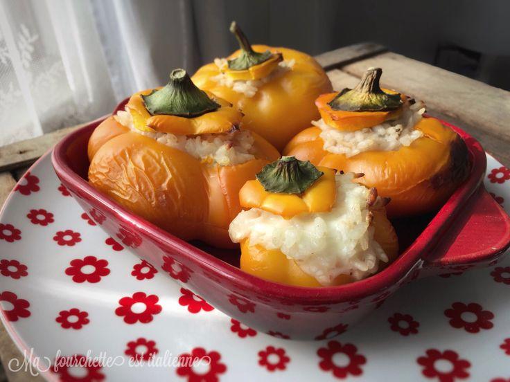Recette poivrons fourrés