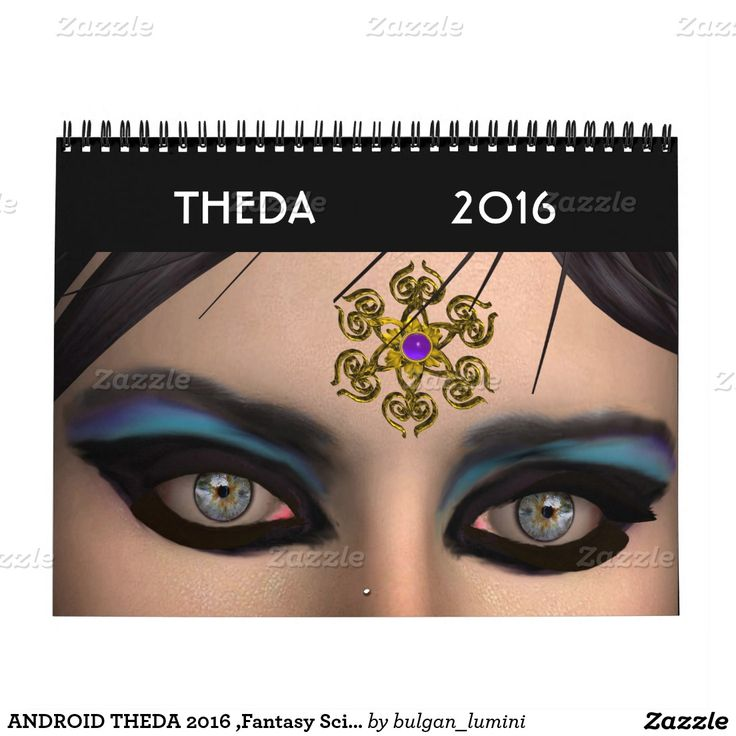 ANDROID THEDA 2016 ,Fantasy Science Fiction Calendar