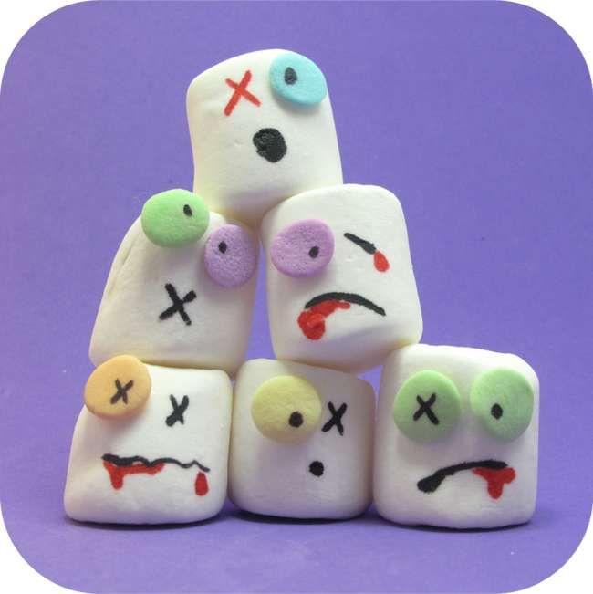 Zombie Marshmallows