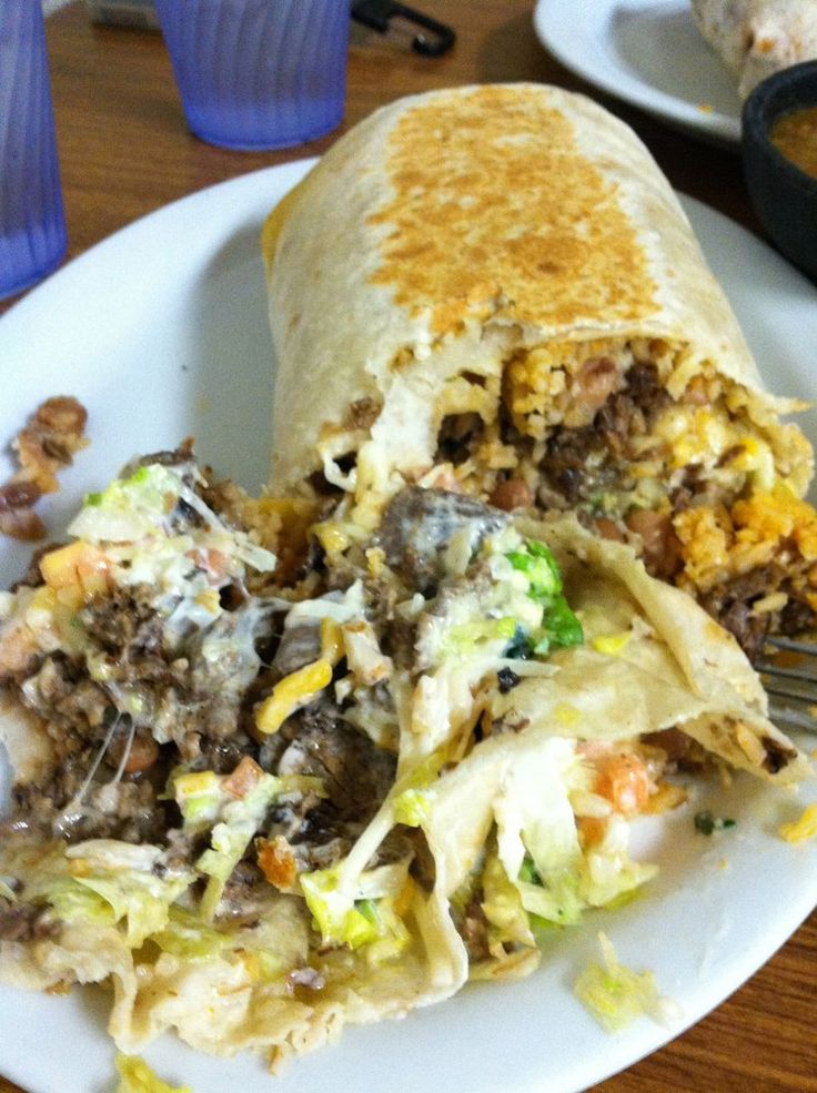The carne asada combination burrito monster unleashed | Yelp