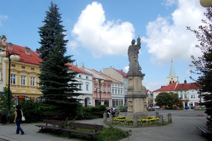 Česko, Valašské Meziříčí - Náměstí
