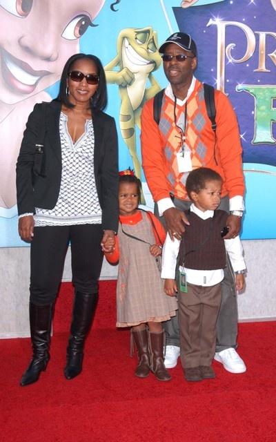 Angela Bassett Family